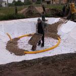 Permakultur - Bau einer Pflanzenkläranlage