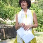 Anne Lascoux, nouvelle Présidente de l' Association Couleur Garance
