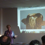 Marie-Noëlle Vacher Granados (Espagne): Teintures à base de champignons