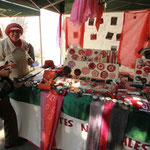 Au marché artisanal d' Haria, rencontre avec Shana Perera, Présidente de l'Association MILANA