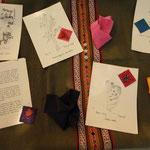 """Exposition sur les couleurs végétales utilisées par les indiennes du Chiapas présentée par """"Au fil de la soie"""""""