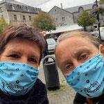 Week-End du Client Durbuy 2020 | Véronique Balthazard, Echevine de l'Economie et Marie-Agnès Piqueray, Agent ADL Durbuy