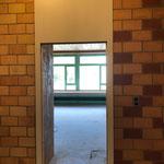 Türrahmen der Lehrerzimmertür