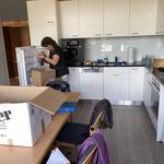 die Küchenchefin am Werk ;-)