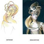 Konzeption und Umsetzung; Goldy Kostüm