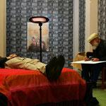 """""""Il corpo morto"""" performance by Francesco Lauretta, ph. Armida Gandini"""