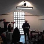 """""""Lezione di nudo"""" with Cesare Biratoni and Ivana Fall, ph. Armida Gandini"""