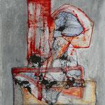 Búsqueda Semántica /mixta sobre cartón 42x30 cms