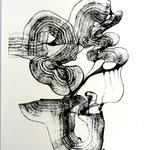Máscara De La Incongruencia  /mixta sobre papel 42x30 cms