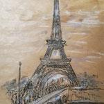 Eiffelturm, Studie