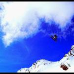 snowkite vol de pente