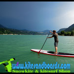 stand up paddle au Monteynard