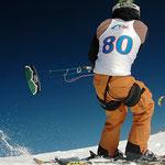 snowkite race