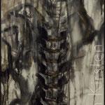 Cv I (Acryl auf Leinwand; 140x60 cm)