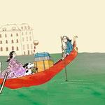 Komm mit, wir reisen zu Mozart Sachbilderbuch von Herbert Rosendorfer & Julia Andreae, arsEdition 2011