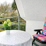 Haus Capt. Scotty - Wohnbeispiel Balkonwohnung