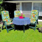 Haus Capt. Scotty - Wohnbeispiel Gartenwohnung