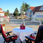 Haus Strandstraße - Wohnbeispiel Appartement mit Balkon