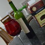Risoto cai bem com vinho!