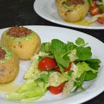 Sirva com salada