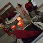 Mesa pronta para o jantar!