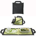 O Black+Blum é um kit com sacola e marmita com talheres; da Bento Store