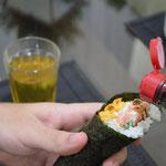 Use molho shoyo para comer