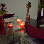 Mesa pronta para o jantar
