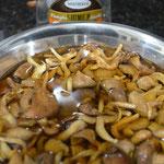 Deixe os cogumelos de molho por 30 minutos antes do preparo do risoto