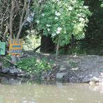 Portage à Garennes sur Eure, canoë nature Anet