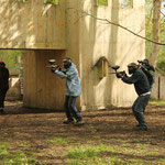 enterrement de célibataire, paintball Anet