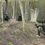 tranchée paintball