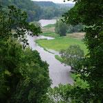 Die Elbe bei Hitzacker
