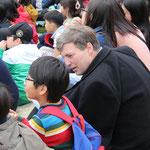Besuch einer Schule