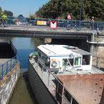 Navigation sur la Moselle