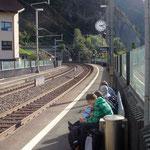 Vom Bahnhof Sisikon wieder nach Hause