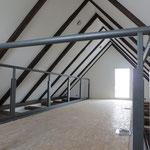 Geländer montiert Dezember 2012