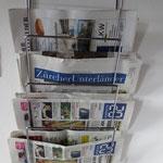Zeitschriften im Jugendtreff: Glattfelder, Unterländer und 20 Minuten