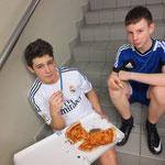 Besuch vom Pizzaexpress