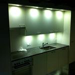 Licht in der Küche wurde angeschlossen
