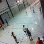 Midnightsport mit 35 Teilnehmern und Teilnehmerinnen