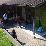 "Sprayen im Jugendhaus ""Jugendhuser""Mai 2011"