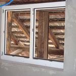 erste Fenster wurden eingesetzt