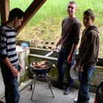 Grillen & Chillen vor dem Jugendhaus Mai 2010