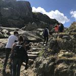 Wanderung zur Rotondohütte