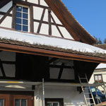 Vordach renoviert
