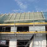 Dachstock und Unterdach der Schmitte August 2012