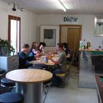 Mittagessen im Jugendhaus