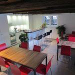 Restaurant im erste Stock
