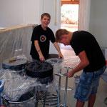 """Renovation """"Jugendhuser"""" Herbst 2009"""